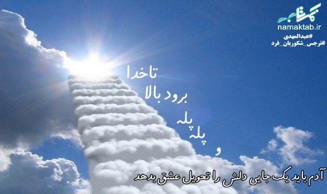 دل,عشق,پله پله تا خدا