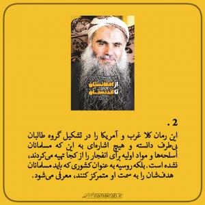 کتاب از افغانستان تا لندنستان,نقد